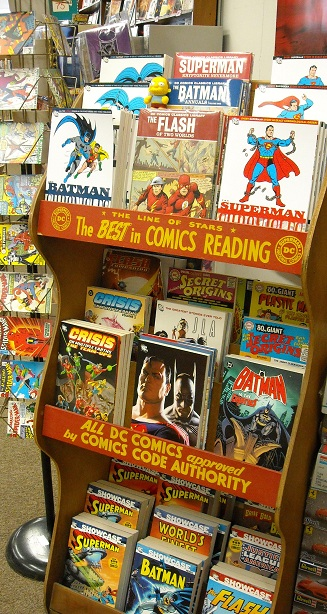 The outer limits store pix - Comic book display shelves ...